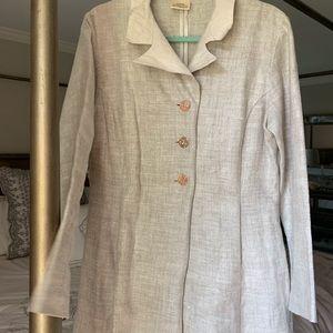 Karol Richardson designer Linen /Silk jacket